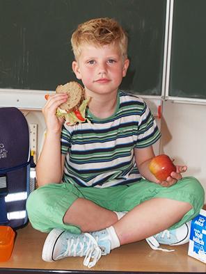 Wirkungsvolle Schulbrot-Aktion