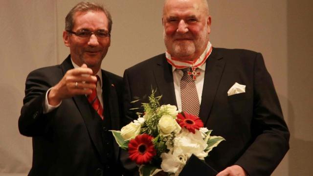 Verdienstorden für Peter Dreißig