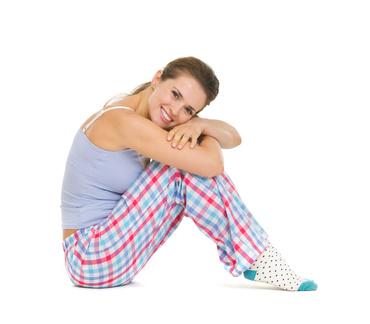 Pyjamaparty als fröhliche Sommeraktion