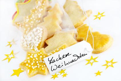 Geschenkekarte als Weihnachtsaktion