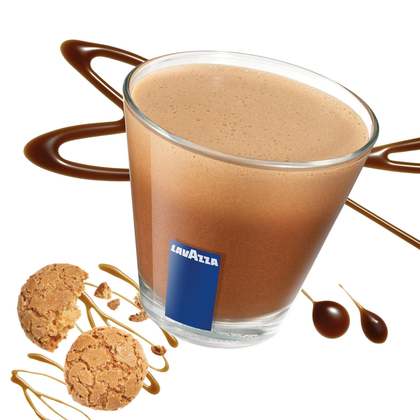Winterliche Kaffeespezialität als Aktionsgetränk