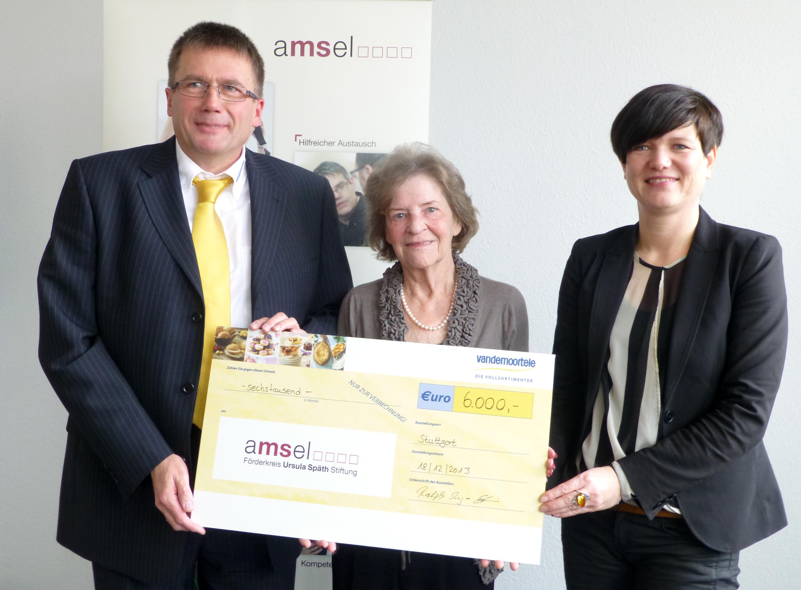 6000 Euro für Multiple-Sklerose-Stiftung