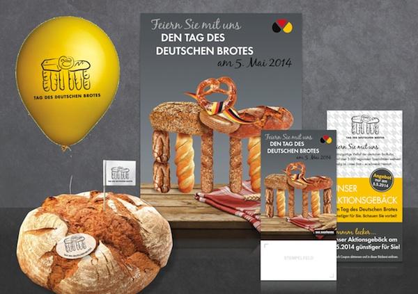 Werbemittelpaket zum Tag des Deutschen Brotes