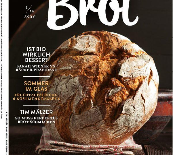 """Neues Lifestyle-Magazin """"Brot"""" erschienen"""