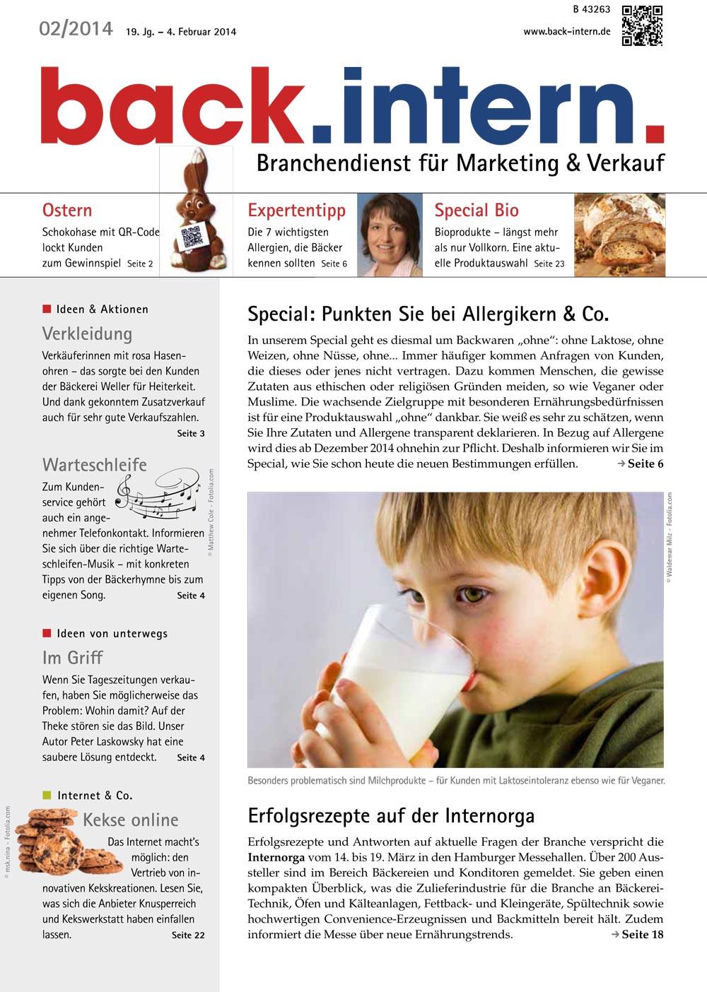 Allergiker & Allergenkennzeichnung
