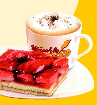 Kaffee- und Kuchen-Kombi-Aktion