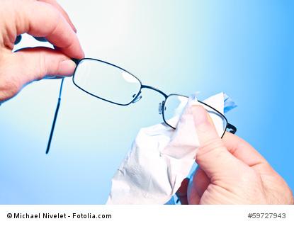 Extraservice für Brillenträger