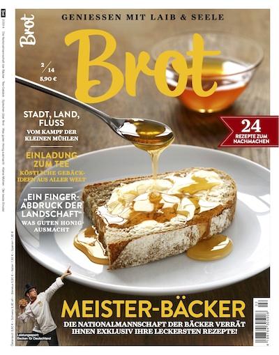 "Magazin ""Brot"" als Imagewerbung"