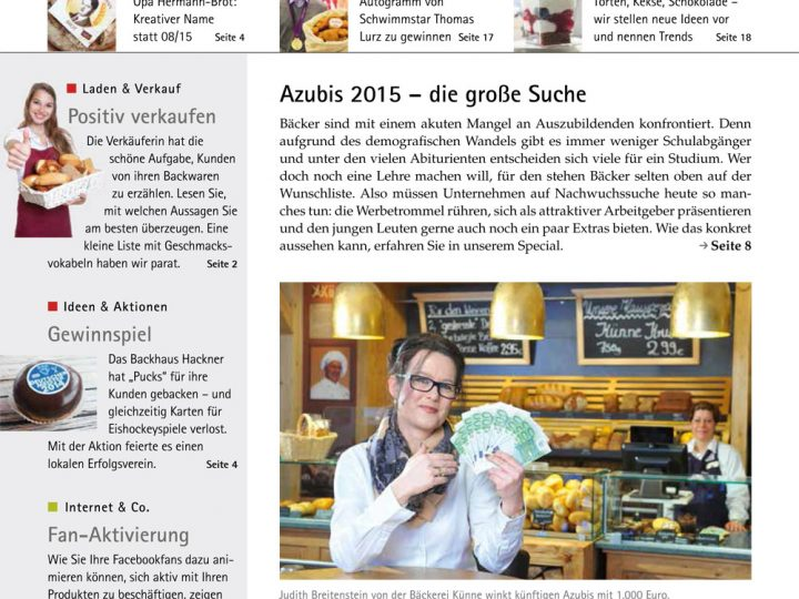 back.intern. 2015 Ausgabe 01