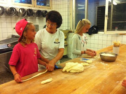 Werbung für das Bäckerhandwerk