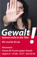 """Aktion """"Gewalt kommt nicht in die Tüte"""""""