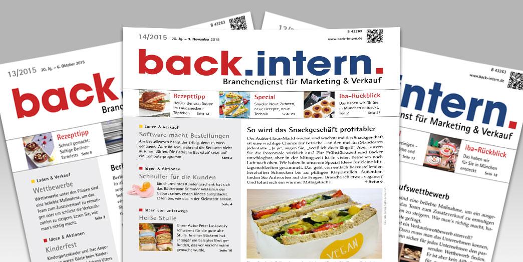 back.intern. 2014 Ausgabe 16