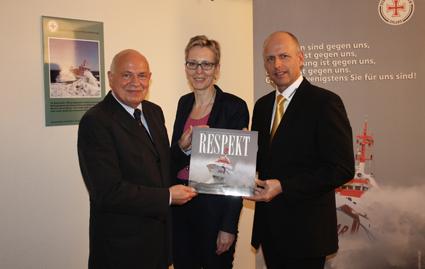 Vandemoortele unterstützt Arbeit der Deutschen Seenotretter
