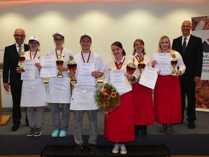 Deutsche Bäckerjugend zeigt großes Potential