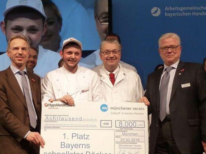 Schnellster Bäcker Bayerns