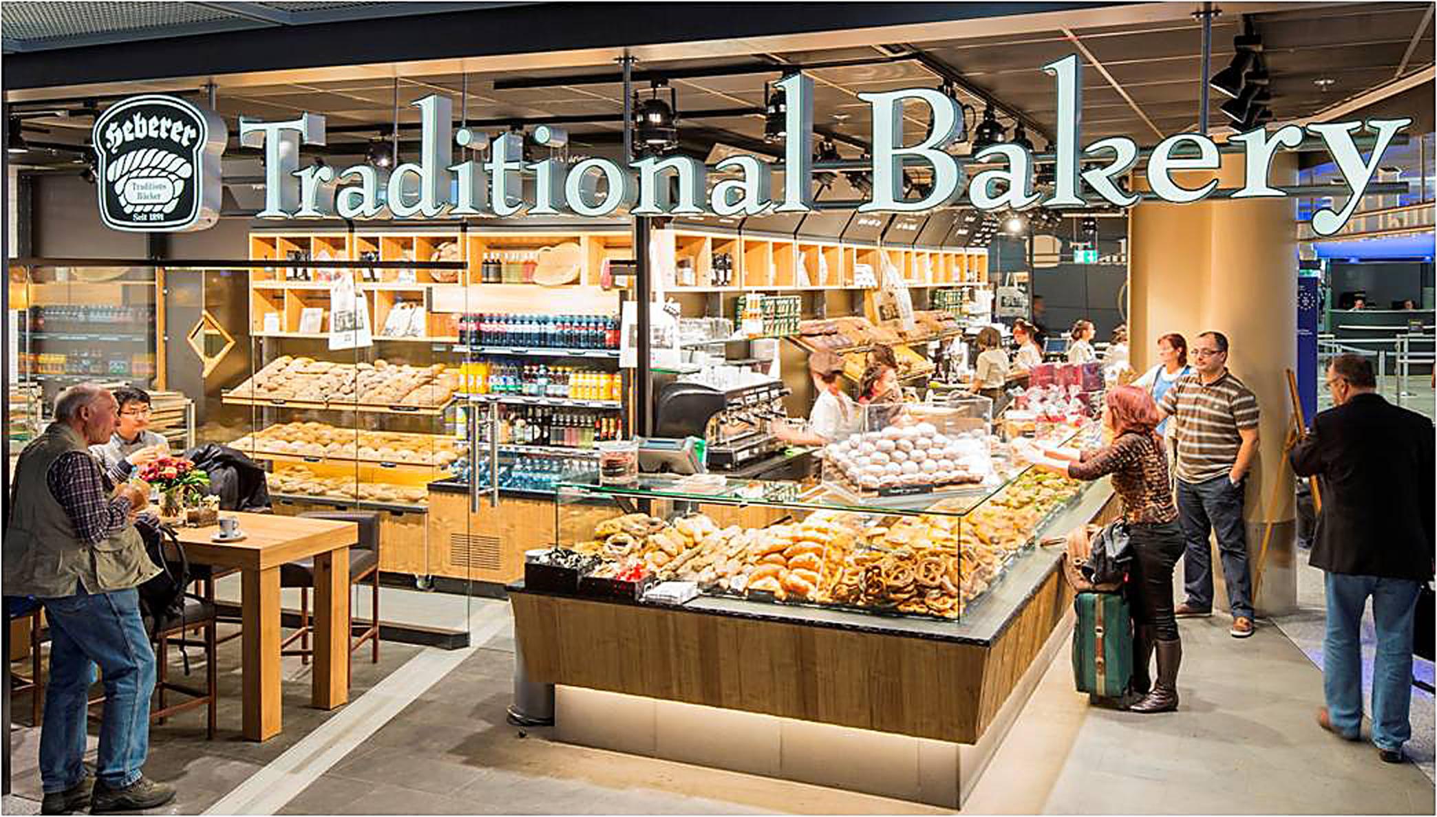 Neue Bäcker am Flughafen