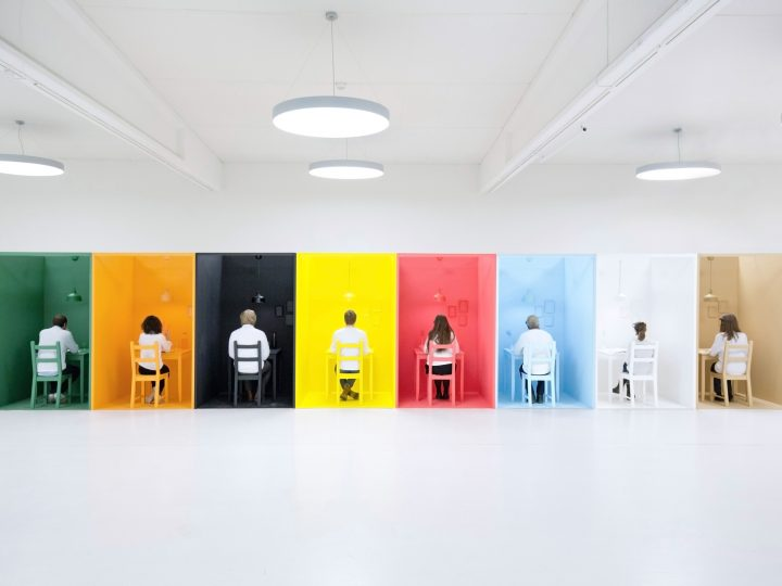 Wirkung von Farben