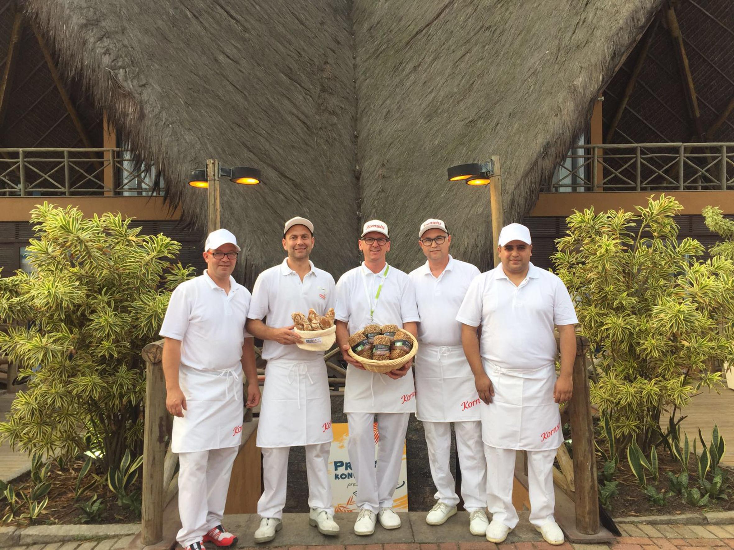 Bäcker-Team von Rio