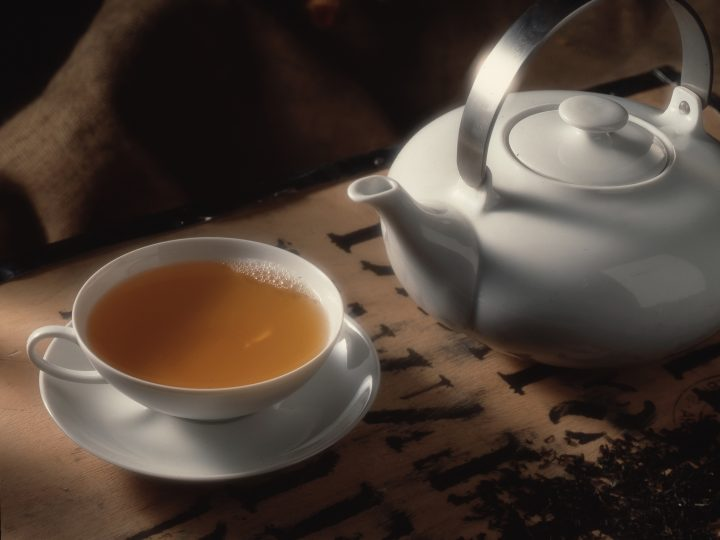Deutsche trinken Tee