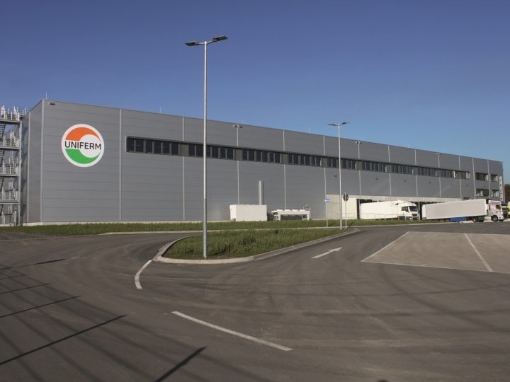 Neues Logistik-Zentrum