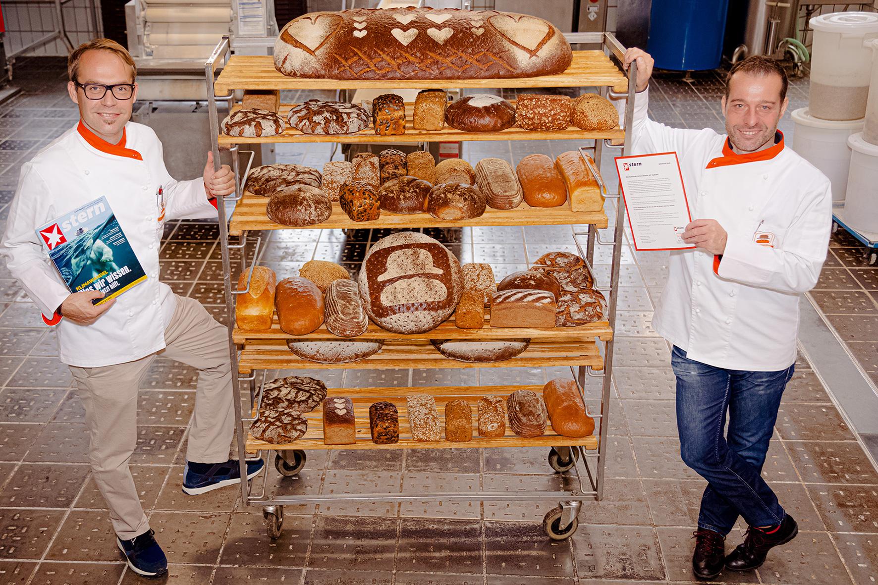 Bäckerei mit Zukunftssiegel