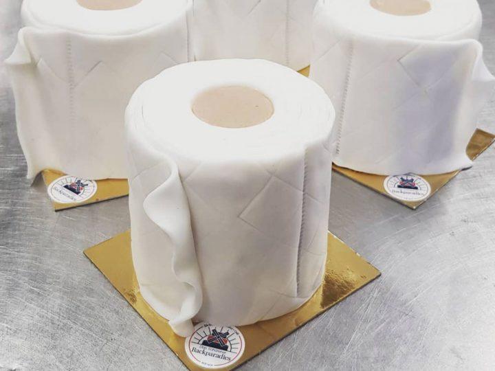 Toilettenpapier aus dem Backparadies