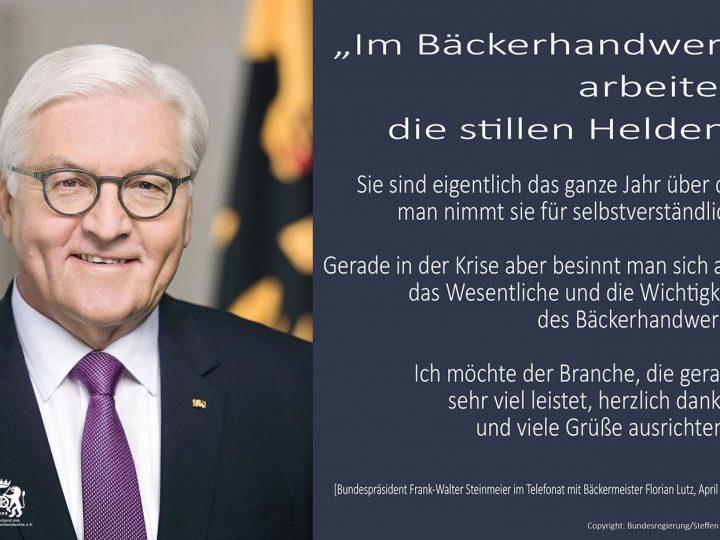 Bundespräsident lobt Bäcker