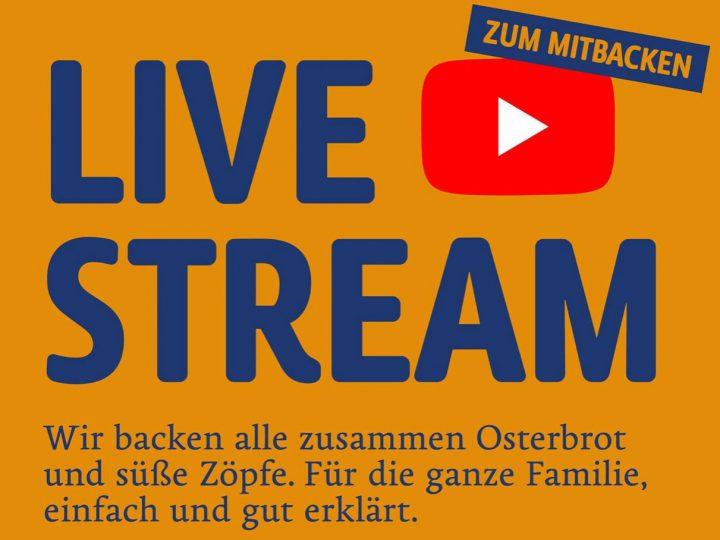 Backkurs per Livestream