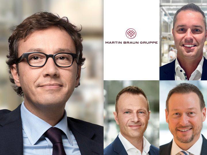 Neues Führungsteam bei Martin-Braun-Gruppe