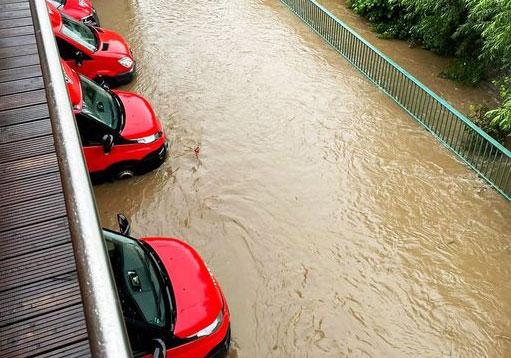 Hochwasser II: BGN bietet finanzielle Entlastung