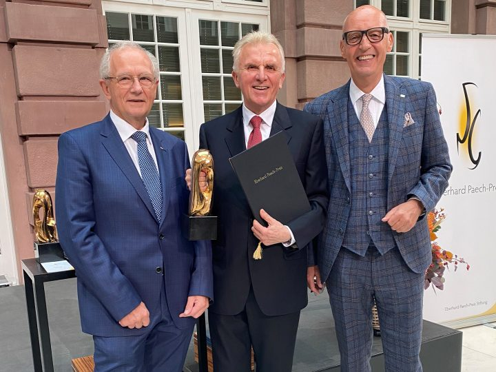 Eberhard Paech-Preis fürs Lebenswerk