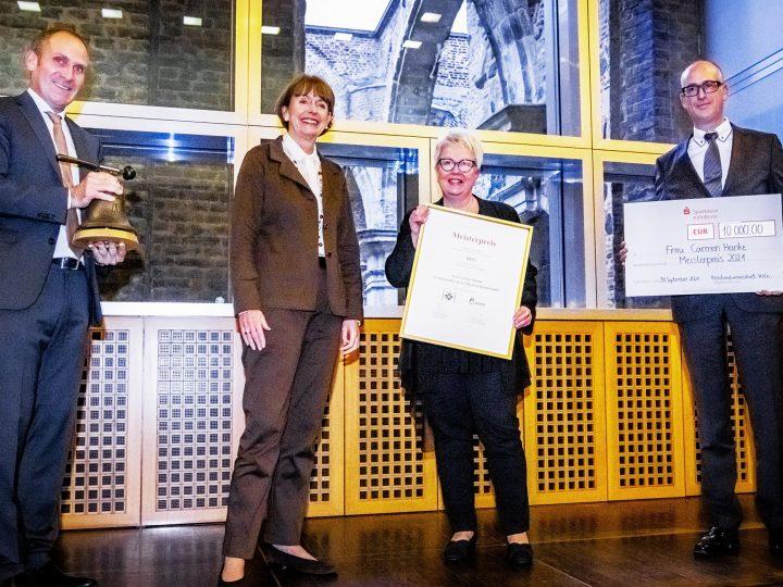 Kölner Meisterpreis für Heinke