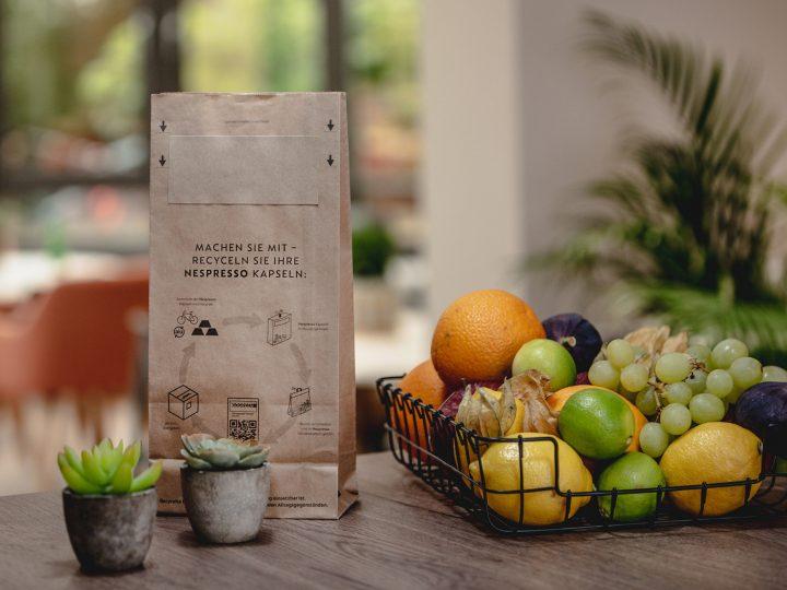Nespresso bietet Abholservice